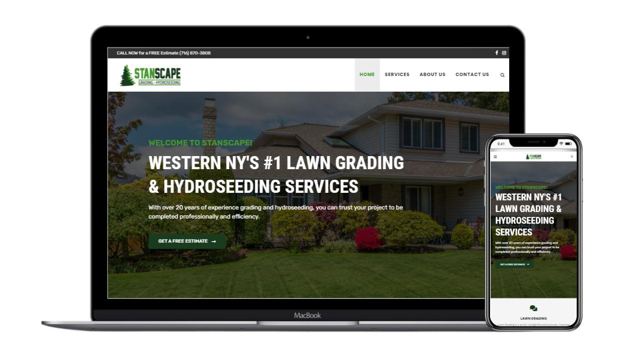Rettig Digital Stanscape Web Design